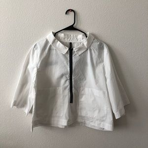 Zara White Dress Tshirt